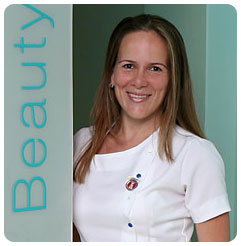 Beauty Therapist Beatriz Polo